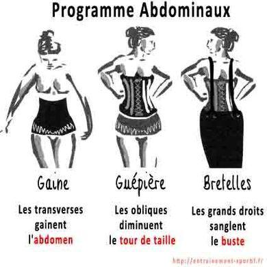roles abdominaux