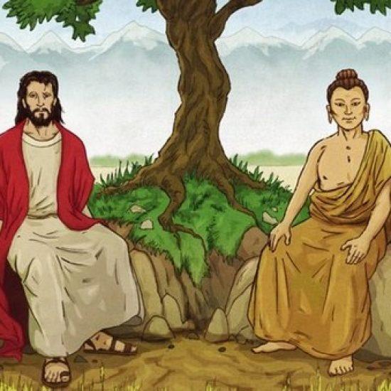 Jesus et Bouddha Arbre